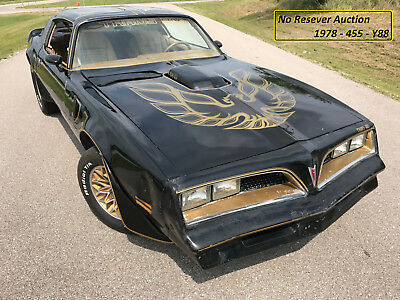 1978 Pontiac Trans Am  No Reserve - 1978 Trans AM Y88 Gold Special Edition, 455 Automatic, Run Great