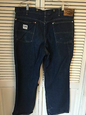 Vintage 1970's Lee Boss Of The Road Denim Jeans Union Made In USA Men's 40x30