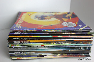 LOT OF GameInformer Video Game Magazines Beatles Cover - 25 ISSUES + EXTRAS