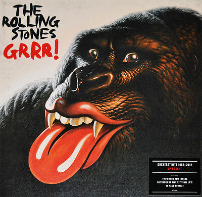 The Rolling Stones - Grrr! Vinyl 5LP Box Set LE and Numbered NEW