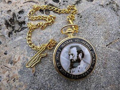 Stonewall Jackson Pocket Watch - US Military - Confederate Watch - CSA General