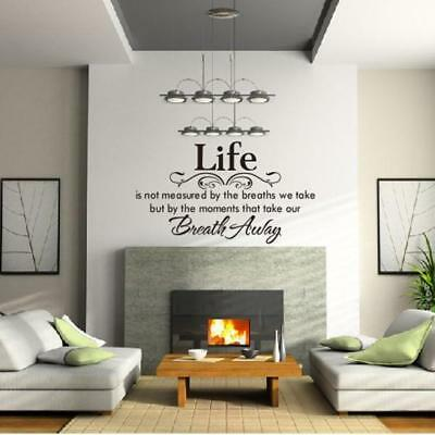 Wall Stickers Art Decals Mural Decor Home Room DIY Decoration A