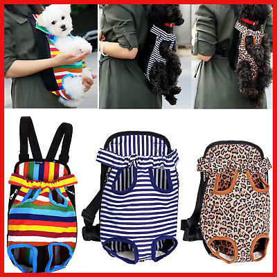 05d0b2a54056 DOG CARRIER FRONT Chest Backpack Pet Cat Puppy Tote Holder Bag Sling ...