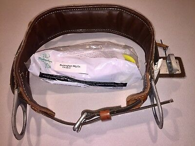 Buckingham ERS Climbing Body/Tool Belt - Size 30 & New Buckingham 6ft Lanyard