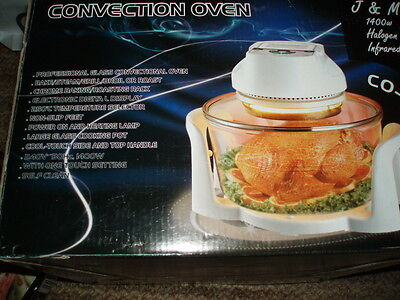 Convection Oven - 1400w Halogen Infrared brand new