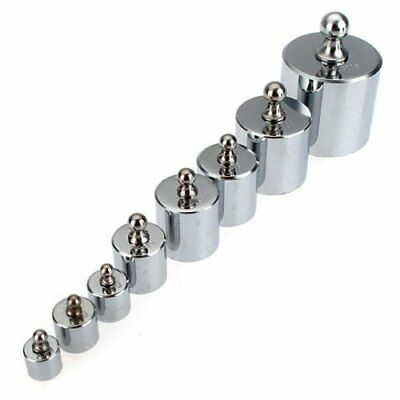 500g Calibration Weights Set for Digital Pocket Scales - Stainless Steel Test by