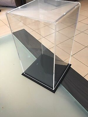 1/6th Acrylic Figure Display Case with Black base 33cm x 19cm Used Good Con