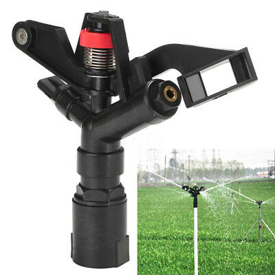 "1"" Impulse Sprinkler Irrigation Head Nozzle Lawn Yard Garden Watering Spray Head"