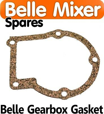 Gear Box Gasket Belle Cement Concrete Mixer Spares Parts Back Plate 150 minimix