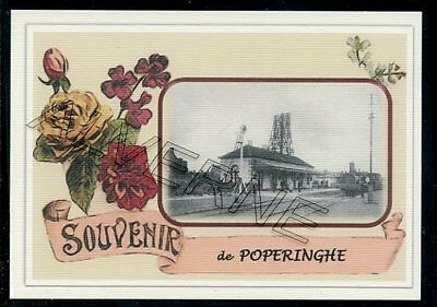 POPERINGHE   - gare souvenir creation moderne - serie limitee numerotee