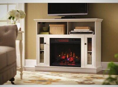 Home Decorators Charles Mill 46 Convertible Tv Stand Electric