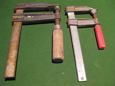 Vintage Hand Vice Clamps - Large (Working Order) Nice Decor Pieces