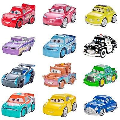 Disney Pixar Cars Mini Racers 1:55 Mcqueen The King Metal Diecast Cars Trucks UK