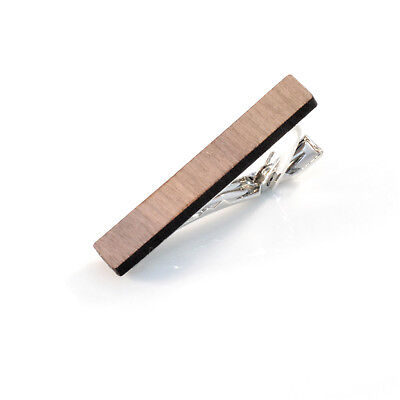 WOODEN Tie Pin Wedding Business etc. Handmade in the UK