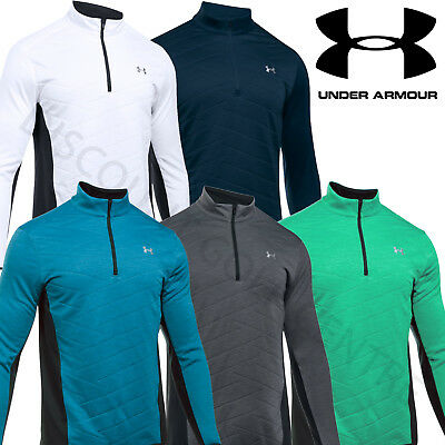 Under Armour 2017 Mens ColdGear Reactor Hybrid Half Zip Top Golf Pullover Jacket