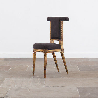 Late 19th Century French Voyeuse Chair. Antique Furniture.