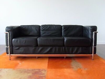rolf benz sofa couch blau alcantara fussgestel silber 2. Black Bedroom Furniture Sets. Home Design Ideas