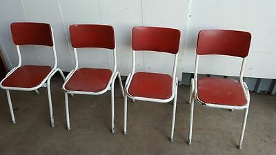 4 1960's Kitchen Chairs