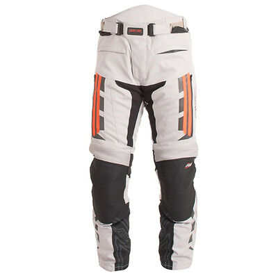 RST Motorcycle Pro Series 1417 Paragon V Textile Trousers Sil/F.Red