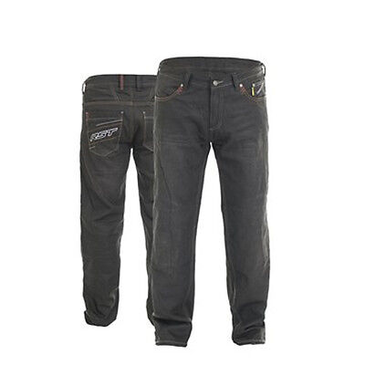 RST Motorcycle 2205 Aramid Wax II Mens Textile Trousers Black