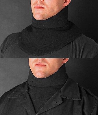 Galls Brand Cushioned Padded Paintball Neck Protector Throat Protection Black