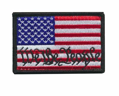 Tactical USA Flag / We The People Tactical Morale Patch