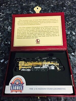 2000 Hallmark Keepsake LIONEL 100TH Anniversary 700 J-1E Hudson Locomotive