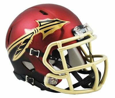 NCAA Florida State Seminoles Speed Mini Replica Helmet Red