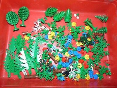 Lego Trees And Flowers