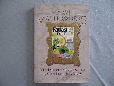 MARVEL MASTERWORKS Vol 2: THE FANTASTIC FOUR (issues 1-10) Hardcover