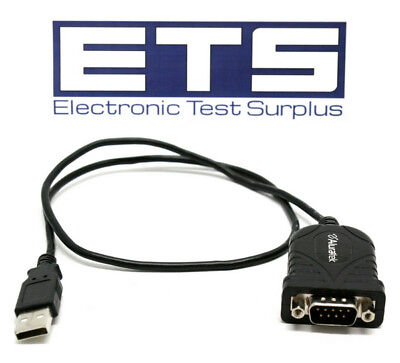 Aluratek USB A To Serial DB9 Adapter Cable
