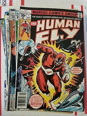 Human Fly (Marvel) 1,2,3,4,5,6,7,8,9,10,11,12,13,14-17,19 FREE PIORITY Shipping