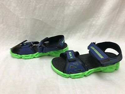 2b672b453 BOY S SKECHERS AIR Mazing Fierce Flops Airsurfer Sport Sandals 11J - EUR  5