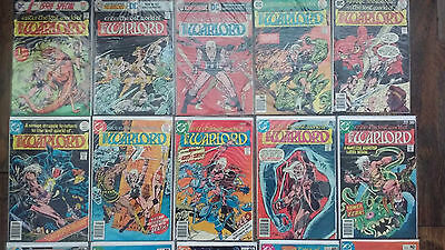 The WARLORD 1st Issue Special 8 & 1 2 3 4 6 7 8 9 10 Enter the Lost World of the