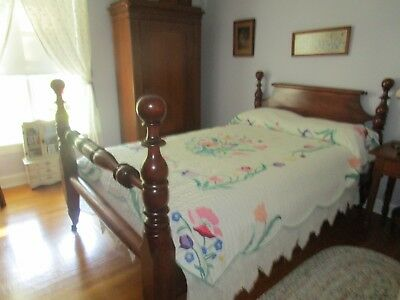 Antique Cherry Rope bed