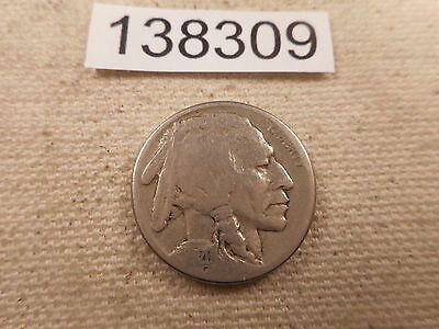 1920 S Buffalo Nickel - Better Date - Very Nice Collector Album Coin - # 138309