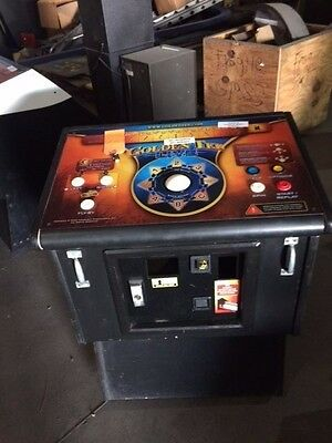 Golden Tee cut down cabinet with extras