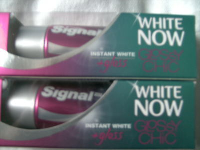 2 x dentifrice signal   white now