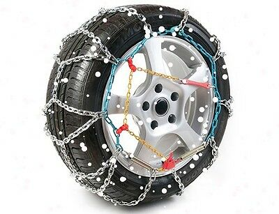 "16mm Heavy Duty Snow Chain / Chains 15"" Wheels - 4x4, Van, Car Motorhome,TXR PRO"