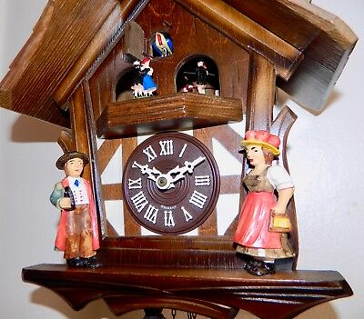 **nice Musical Animated  Germany Black Forest Cuckoo Clock**