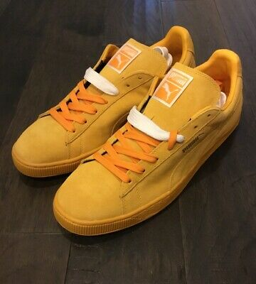 outlet store 862df f00ee Puma Suede Classics shoes mens new sneakers 356568 47 gold fusion