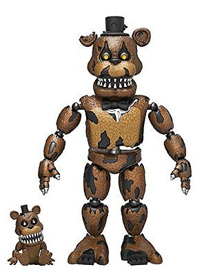 "Funko 5"" Articulated Five Nights at Freddy's - Nightmare Freddy Action Figure"