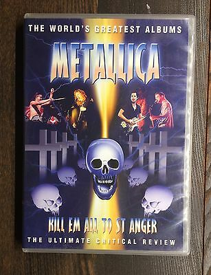 Metallica Kill Em All To St Anger Movie DVD The Ultimate Critical Review Used