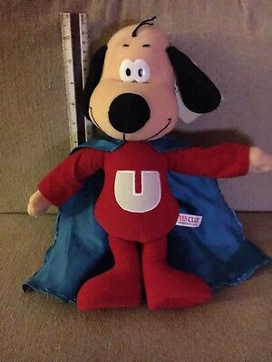 """UNDERDOG 12"""" plush doll-new condition with tags"""
