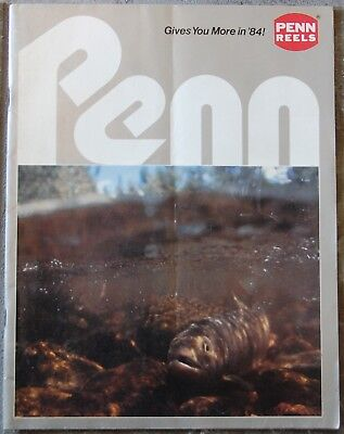 Penn Reels Catalog from 1984 - Great pictures of reels and specifications