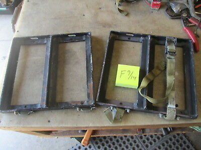 2 Used 2-Can Ammo Can Holders for 50cal Cans, for HMMWV M1026 M1114 Bed Mount, M