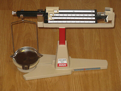 OHAUS Cent-O-Gram Balance 311g Lab Scale VF Condition Complete