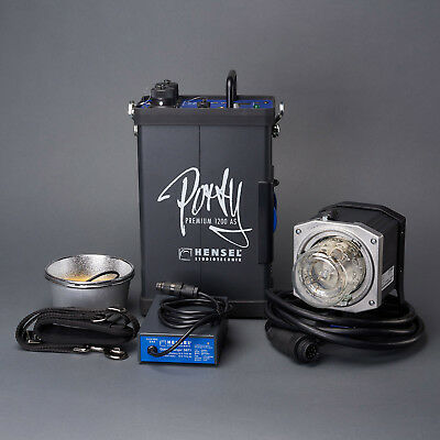 Hensel Porty Premium AS 1200 Ws Portable Lighting Kit