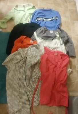 HUGE lot of used maternity clothes size small
