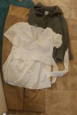 HUGE lot of used maternity clothes size small Ann Taylor Loft Motherhood